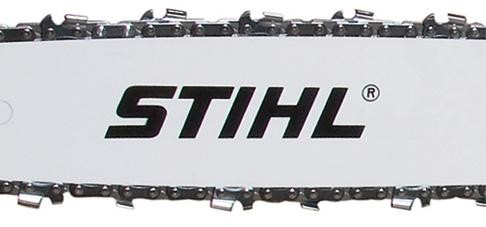 Guide Bar Stihl, 13'' (32 cm), for chain .050'', 3/8'', 50 DL