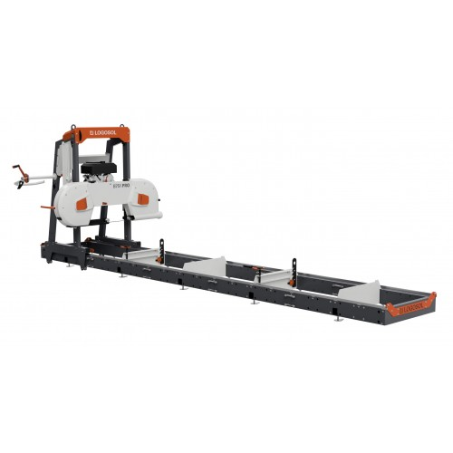B751 PRO Band Sawmill with 18hp petrol motor and electric start