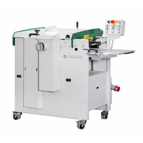 Logosol DH410 (Model 2) 1-phase, 220 V, with Variable Feeding 7-39 ft/min (2-12 m/min) - Ready to start