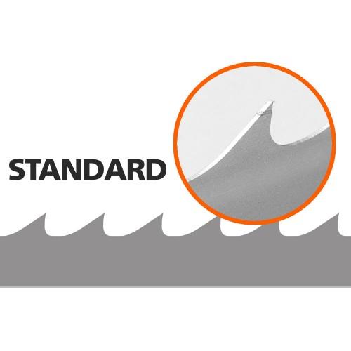 5 Bandsaw Blades for Logosol B1001, L: 4310 mm, W: 33 mm