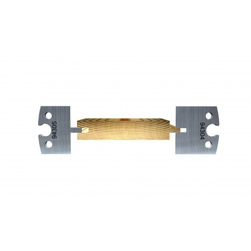 Tongue-and-Groove 4 mm (close tolerance, 0.1 mm)